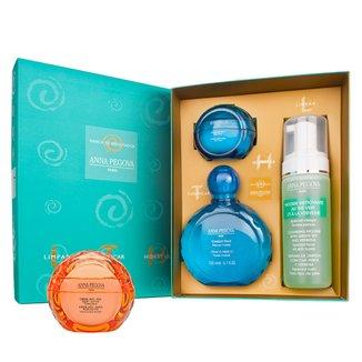 LTH - Limpar, tonificar e hidratar + Creme Pluri-Active Kit Anna Pegova