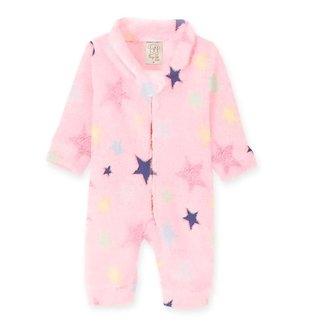 Macacão Bebê Pingo Lelê Pijama e Fleece Estrela Feminino