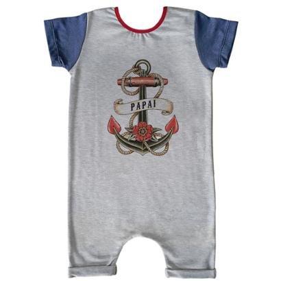 Macacão Infantil Curto Comfy Papai