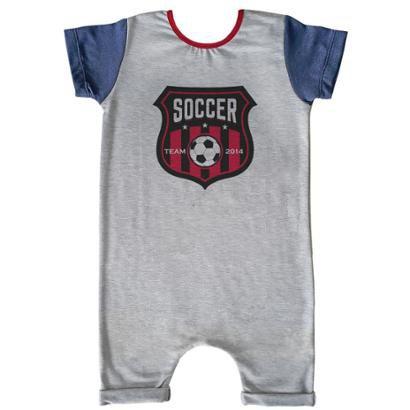 Macacão Infantil Curto Comfy Soccer