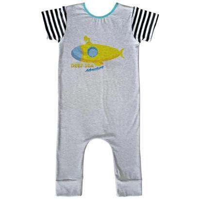 Macacão Infantil Longo Comfy Deep Sea