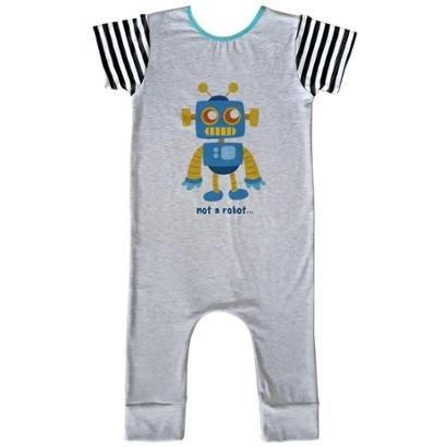 Macacão Infantil Longo Comfy Not Robot