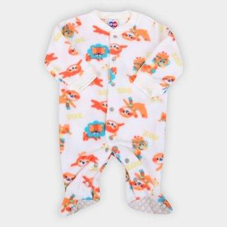 Macacão Longo Bebê Tip Top Soft Masculino