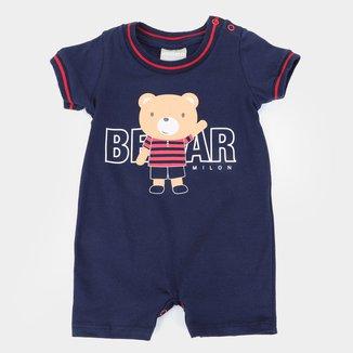 Macaquinho Bebê Milon Bear Masculino