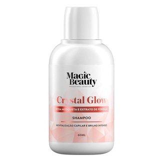 Magic Beauty Crystal Glow Mini Shampoo de Revitalização Capilar 60ml