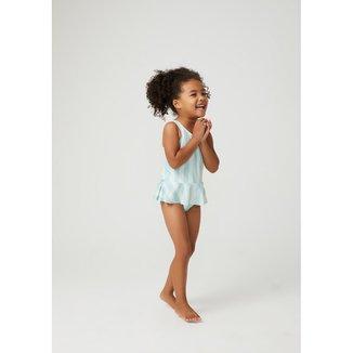 Maiô Infantil Com Proteção Solar Uv Toddler Feminino