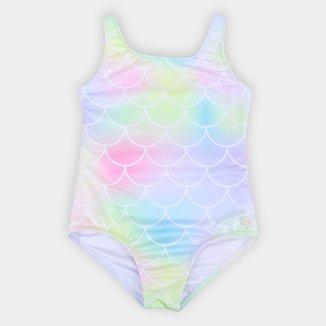 Maiô Infantil Fakini Tie Dye Com Proteção UV 50+