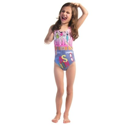 Maiô Infantil Swim Colors Fashionista