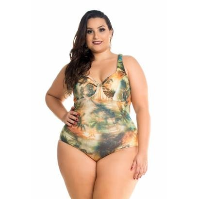 aed4743cfd7c Maiô Maré Brasil Estampado Para Senhora-Feminino ...