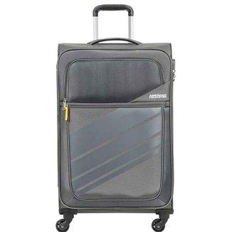 Mala de Viagem Média (23 kg) em Poliéster Leve com Rodas 360º - Stirling Light - American Tourister