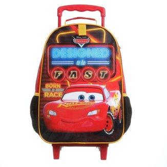 Mala Escolar com Rodinhas DMW Carros