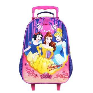 Mala Escolar com Rodinhas DMW Princesas