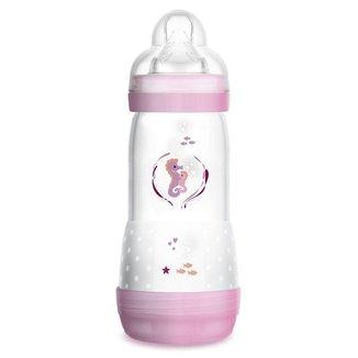 Mamadeira Mam Easy Start 320ml - Embalagem Unitaria Rosa