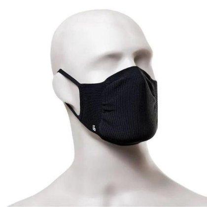 Mascara Adulta Lupo Zero Costura Bac - Off - Kit C/2 Unidades - Preto
