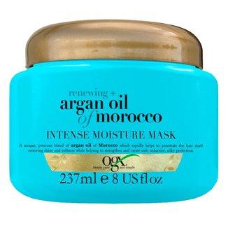 Máscara de Hidratação  Argan Oil Intense Moisture Mask OGX 237ml