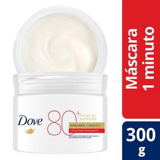 Máscara de Tratamento Dove Fator de Nutrição 80+ 300g