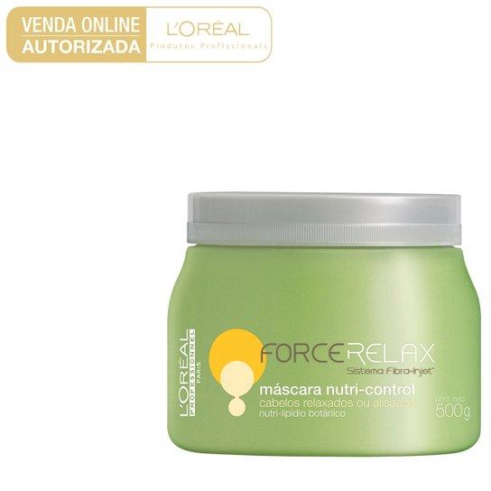 Máscara de Tratamento L'Oréal Professionnel Force Relax Nutri 500g - Incolor