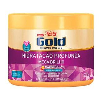 Máscara de Tratamento Niely Gold Brilho Absoluto 430g