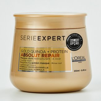 Máscara Dourada L'oréal Professionnel Absolut Repair Gold Quinoa + Protein Ligth - 250ML