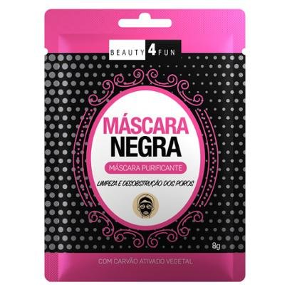 Máscara Facial Beauty 4 Fun Negra 1 Un