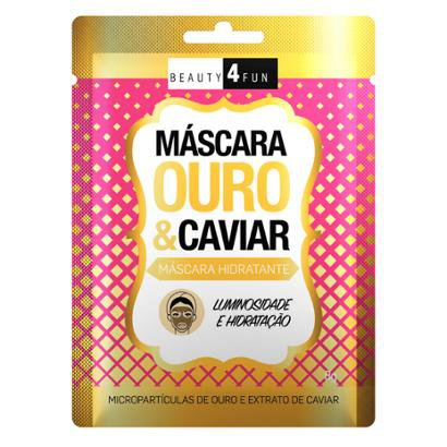 Máscara Facial Beauty 4 Fun Ouro e Caviar 1 Un