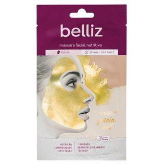 Máscara Facial Belliz Nutritiva de Ouro