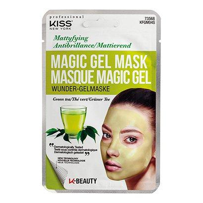Máscara Facial Kiss New York - Magic Gel Mask Chá Verde - 1 Unid.