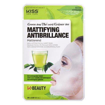 Máscara Facial Kiss NY - Chá Verde 1 Un