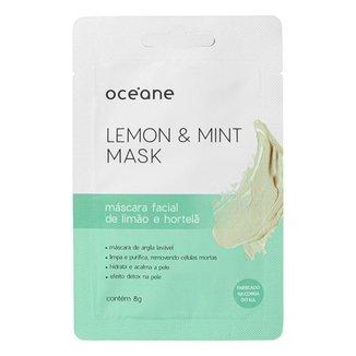 Máscara Facial Océane – Limão e Hortelã 8g