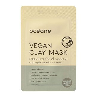 Máscara Facial Océane – Vegan Clay Mask 15g