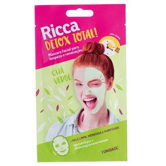 Máscara Facial para Limpeza e Renovação Ricca