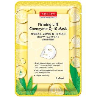 Máscara Facial Rejuvenescedora Purederm Coenzyme Q-10 1 unidade