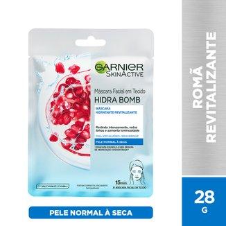 Máscara Facial Revitalizante Garnier Skin Romã Hidra Bomb - 32g