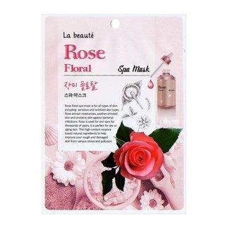 Máscara Facial Sisi Cosméticos La Beauté Rose Floral 1Un