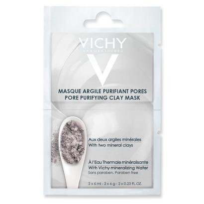 Máscara Facial Vichy - Mineral Mask Duo Argila 2x 6ml
