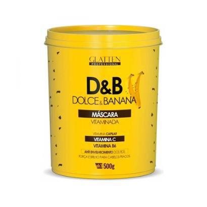 Máscara Glatten Dolce & Banana Vitaminada 500G-Feminino