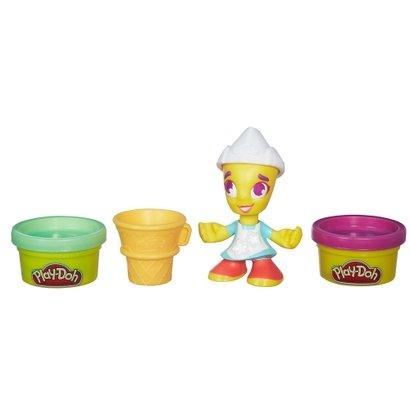 Massa de Modelar com Figura - Play-Doh Town - Pintora - Hasbro