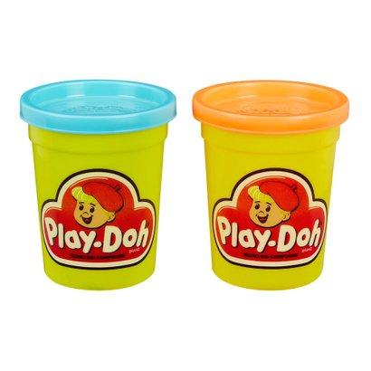 Massa de Modelar - Retrô - Play-Doh - Pack com 2 Potes - Hasbro