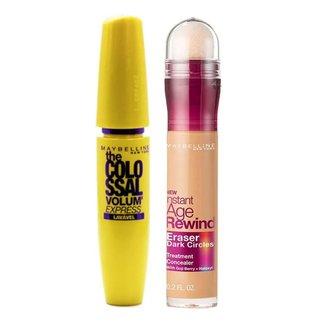 Maybelline Colossal Eraser Kit - Máscara para Cílios + Corretivo Honey Kit