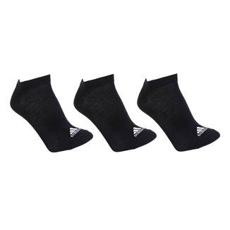Meia Adidas Sem Cano Thin Pacote c/ 3 Pares