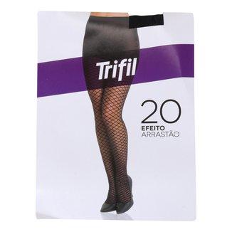 Meia-Calça Trifil Arrastão Pele Fio20 Feminina