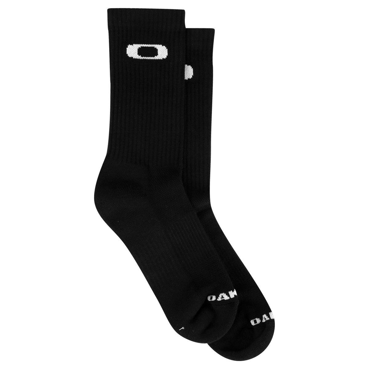 Meia Oakley Cano Alto Mod Crew Sock 2.0 Masculina - Compre Agora ... 7cac796848e