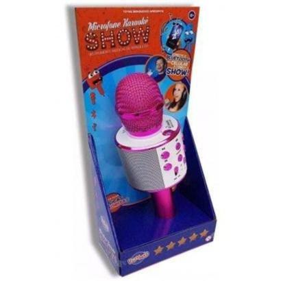 Microfone Infantil Karaokê Show com Bluetooth Toyng