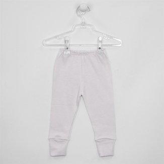 Mijão Bebê Unissex Suedine com Pé Reversível Branco-G