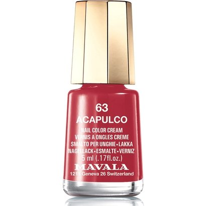 Mini Esmalte Cremoso Mavala Color Acapulco N063 5ml