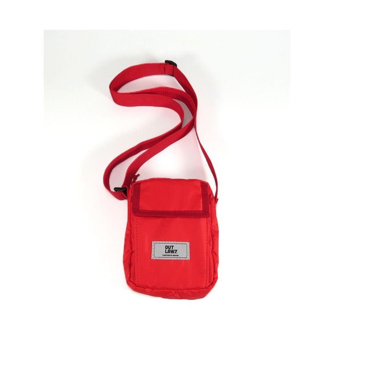 Mini Shouder Bag Impermeável Outlawz - Vermelho - Compre Agora  7d223a0baeb