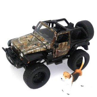 Miniatura Jeep Wrangler 2007 1/24