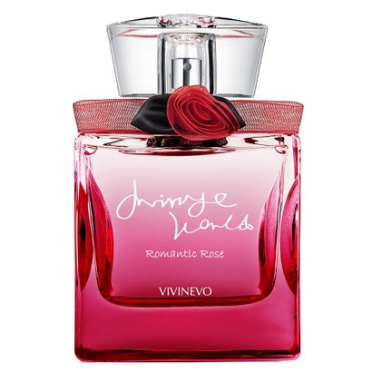 Mirage World Romantic Rose Vivinevo - Perfume Feminino - Eau de Parfum 100ml
