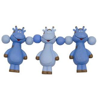 Móbile Bebê Menino Girafa Vila Toy Azul