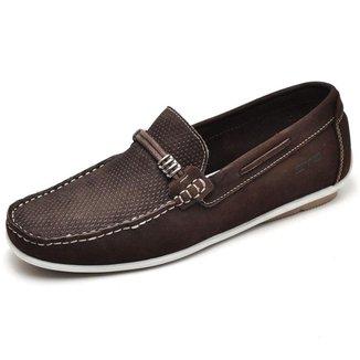 Mocassim Carmelo Shoes Casual Couro Masculino